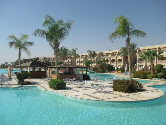 Prima Life Makadi: Hotel garden