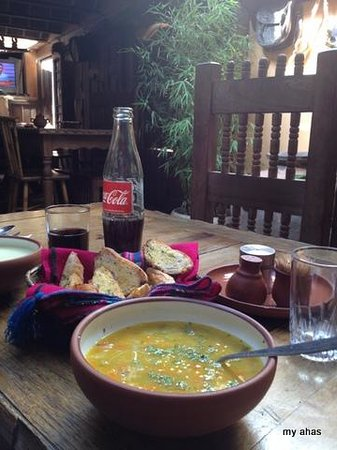 Le Pot Colonial: Soup with Fixed Menu lunch