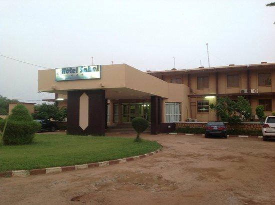 Hotel du Sahel: Building