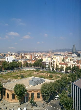 Ilunion Barcelona: nice view from 805