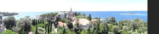 Island Hotel Istra: hotel panorama