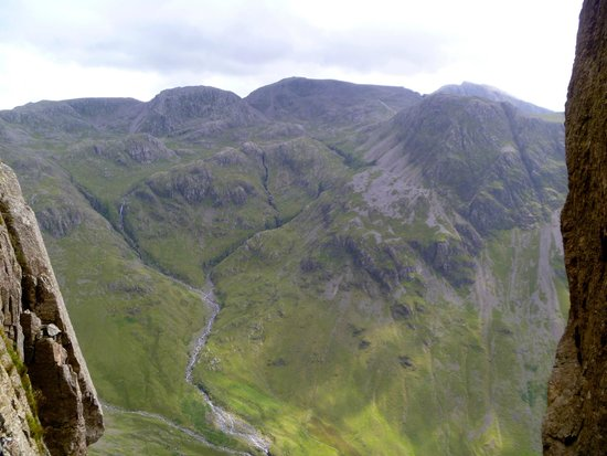 Mountain Journeys: The Scafells - as seen from Napes Needle