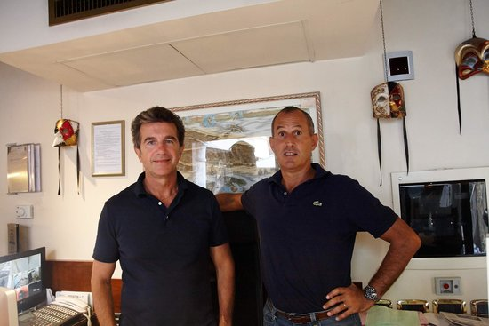 Hotel Al Ponte Mocenigo: Mr.Walter & Mr.Sandro the Owners
