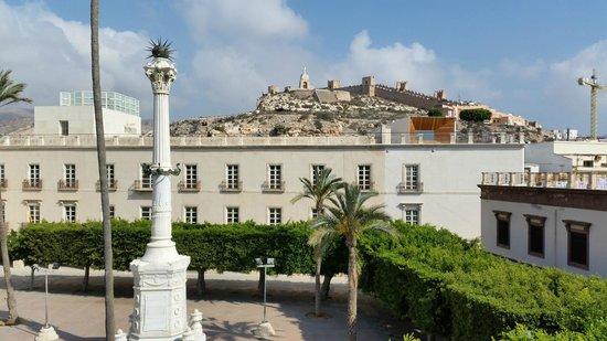 Aire Hotel & Ancient Baths : vista desde otro de los balcones de la habitacion