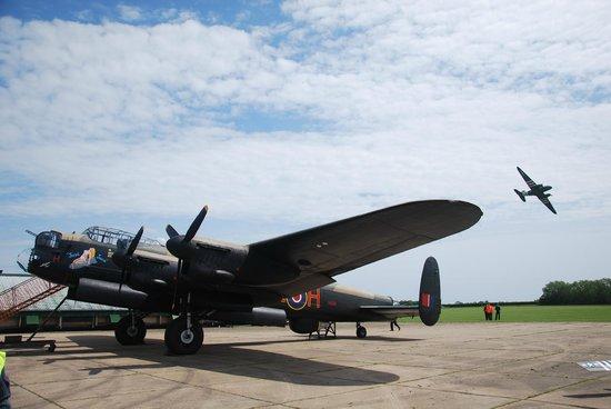 Lincolnshire Aviation Heritage Centre: Just Jane and Dakota