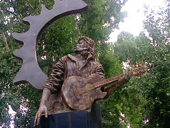 Monument to Victor Tsoi