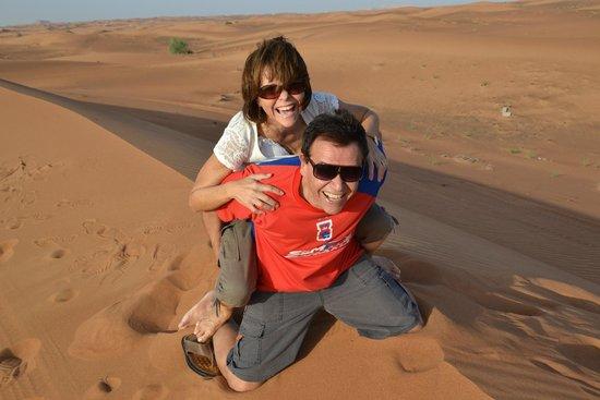 Dubai Desert Conservation Reserve: deserto