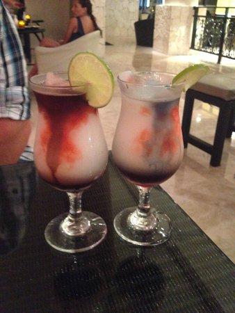 Secrets Maroma Beach Riviera Cancun: Purple rain