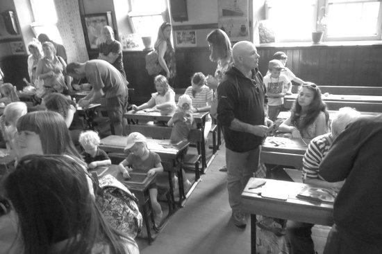 Beamish Museum: In a school room