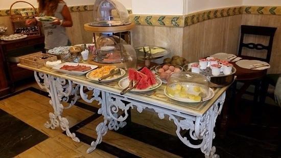 Villa San Lorenzo Maria Hotel: colazione