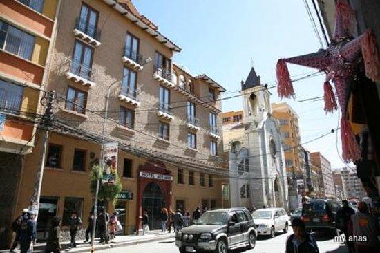 Hotel Rosario La Paz: Hotel exterior