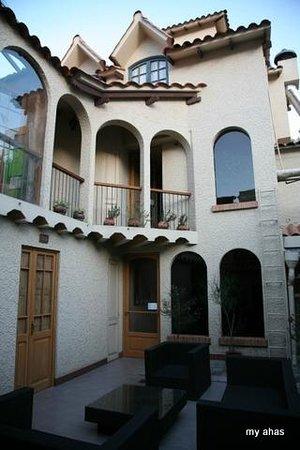 Hotel Rosario La Paz : Courtyard