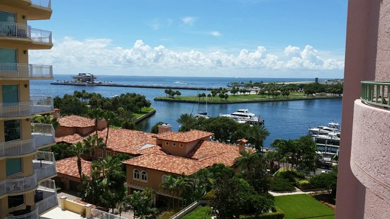 The Vinoy Renaissance St. Petersburg Resort & Golf Club: View from our corner room...