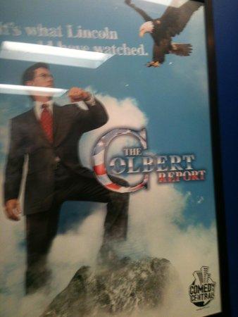 Colbert Report: Stephen and Stephen Jr.