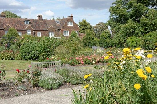Royal National Rose Society Gardens: National Rose Society Gardens,  Chiswell Green, St Albans