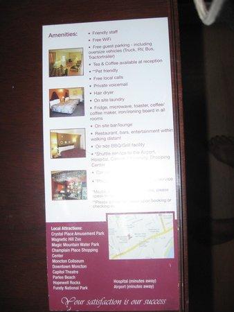Midtown Motel & Suites : Features