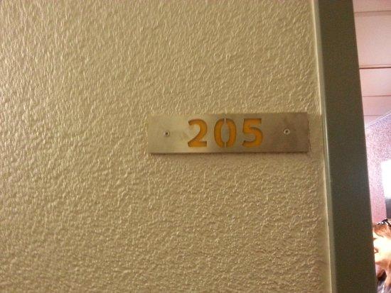MEININGER Hotel Berlin Hauptbahnhof: numero della stanza