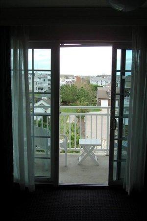 La Mer Beachfront  Inn: View from the room.