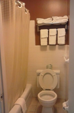 Rodeway Inn & Suites: Clean bathroom