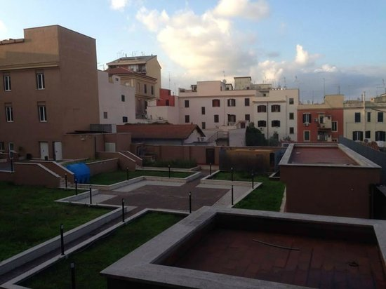 Eurostars Roma Aeterna: view from the room