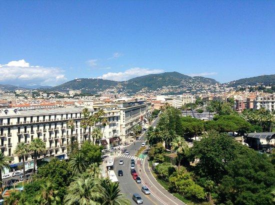 Le Meridien Nice : view from room