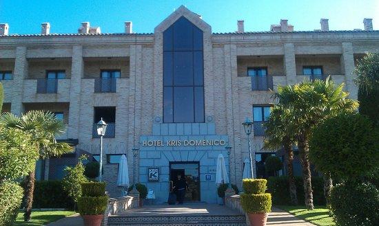 Hotel Cigarral Domenico : Центральный вход в отель
