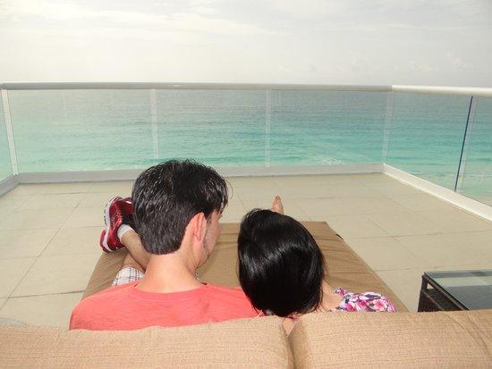 Hard Rock Hotel Cancun: Vista Mar.