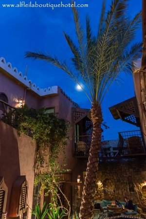 Alf Leila Boutique Hotel.: Full Moon Over Alf Leila