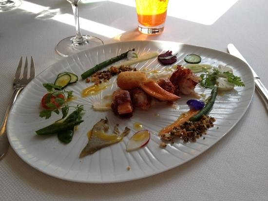 Les Hautes Roches : autour du. homard un delice