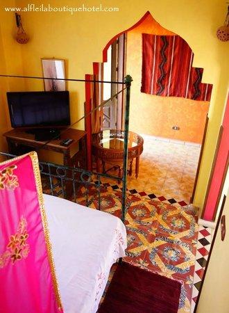 Alf Leila Boutique Hotel.: The Saffron Suite