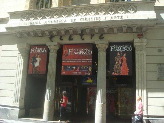 Palau de la Musica Orfeo Catala: Fachada do Teatro