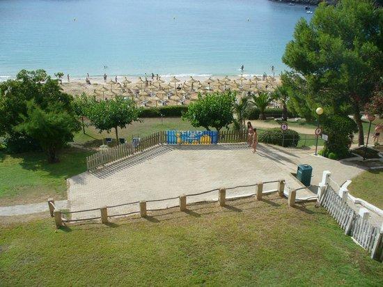 Club Hotel Aguamarina: spiaggia