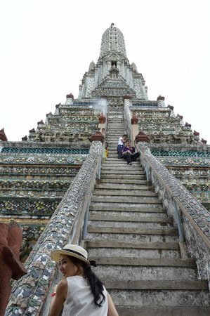 Temple Of Dawn (Wat Arun): Steep Stairs
