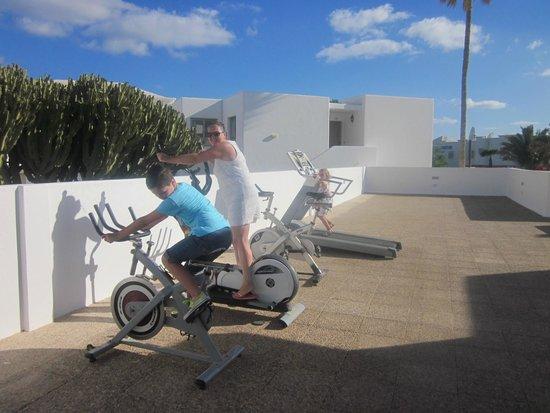 Hotel Floresta: exercise area