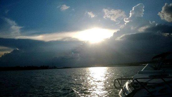 Pontão do Lago Sul: Pôr do sol