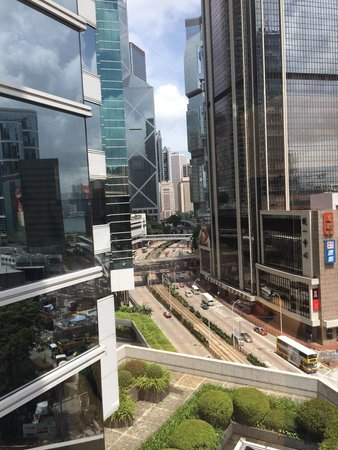 JW Marriott Hotel Hong Kong: View from room 906