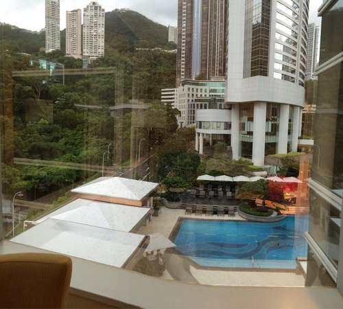 JW Marriott Hotel Hong Kong: View from room 918