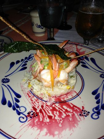 Grand Palladium Colonial Resort & Spa: Mexican Restaurant Shrimp Dish