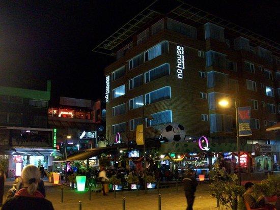 NU House Boutique Hotel : Aussenansicht