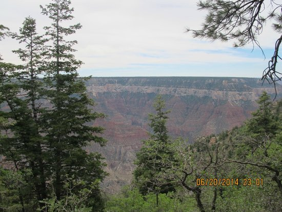 Grand Canyon Lodge - North Rim: View from the North Rim of the Grand Canyon