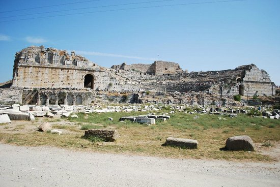Miletus: Theater and field of marble. Neat!