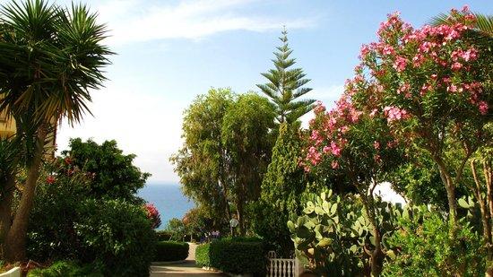 Hotel Santa Lucia: Ogród hotelowy