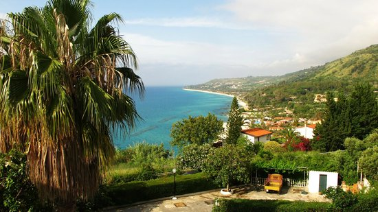 Hotel Santa Lucia: Widok z tarasu hotelowego