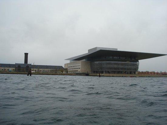Copenhagen Opera House: Вид с катера