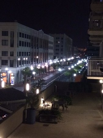 Twelve Atlantic Station: Midnight from the Balcony