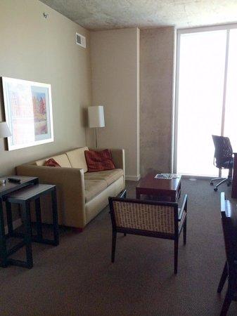 Twelve Atlantic Station: Living Room