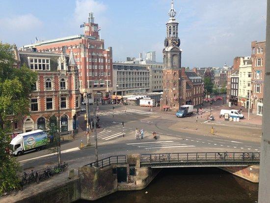De L'Europe Amsterdam: Aussicht aus dem Zimmer