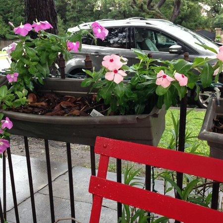 The Delachaise: Patio Flower Box
