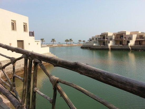 Cove Rotana Resort Ras Al Khaimah: Aussicht auf die Villen