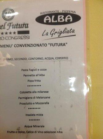 Hotel Futura : ecco la brutta sorpresa avuta al ristorante....